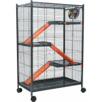 Cage Indoor Maxi Loft 2 Orange pour Rat et Furet