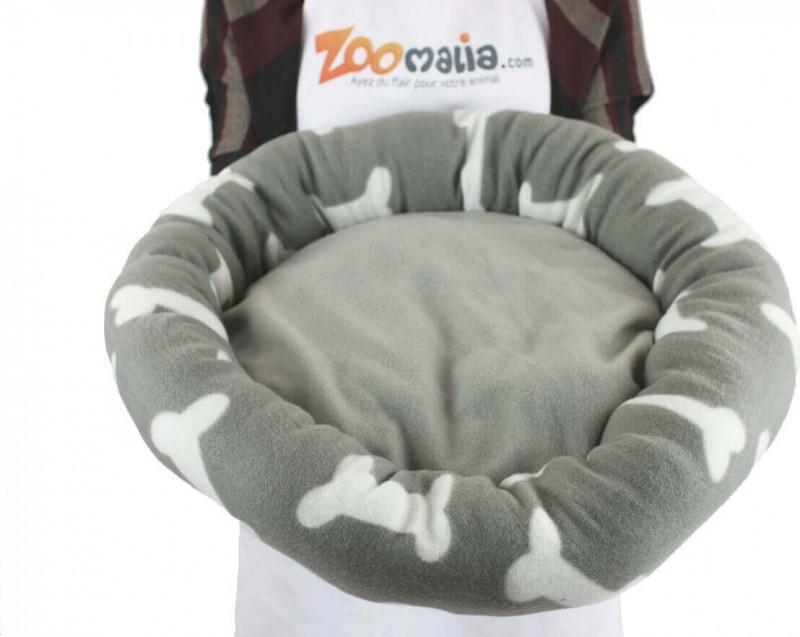 Coussin rond pour chien et chat ZOLIA Liloo Cosy 57cm
