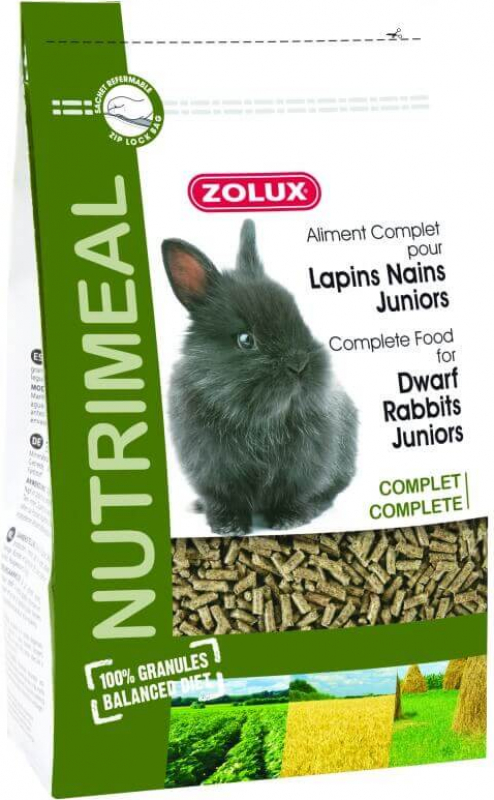Nutrimeal Complete Food for Junior Dwarf Rabbits