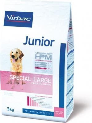 VIRBAC Veterinary HPM JUNIOR Special Large pour chiot de grande taille