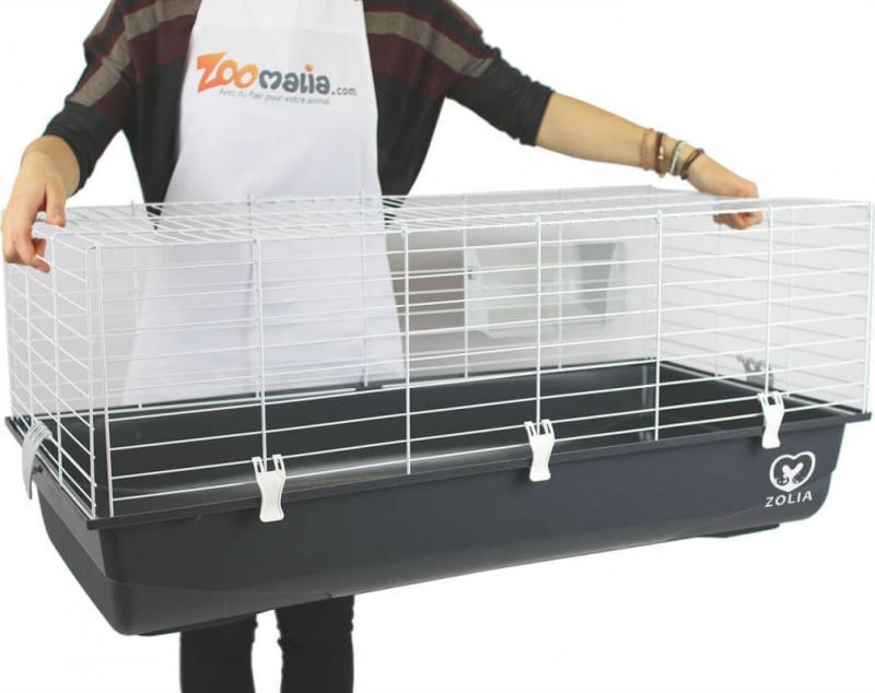 Kooi ZOLIA ONYX 100 Ambiente voor konijnen en cavia's