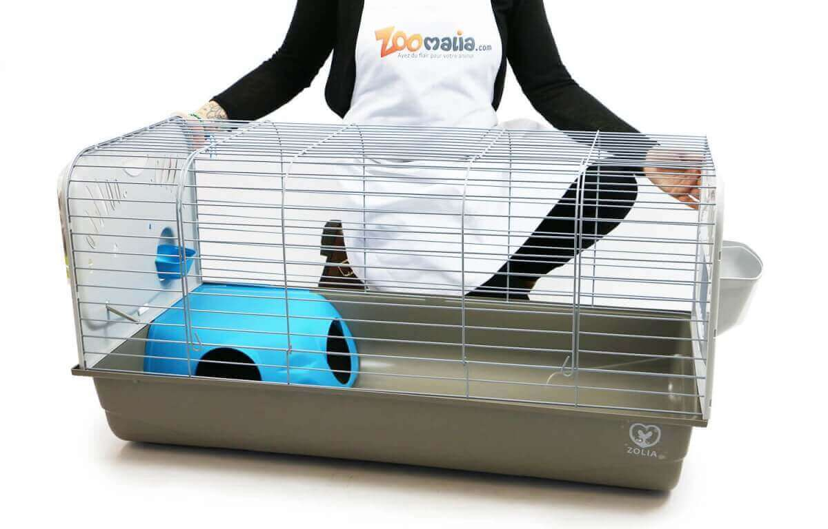 Zolia Caesar 100 Cage for Rabbits and Guinea Pigs_5