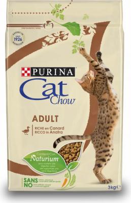 CAT CHOW ADULT pour chat riche en Canard