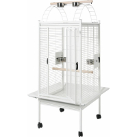 Cage perroquet Kambela blanche