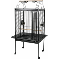 Cage perroquet Kubeo grise