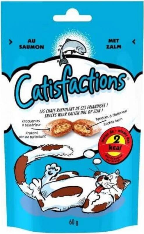 Catisfactions Friandises au saumon pour chat et chaton