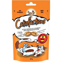 Friandises Catisfactions au Poulet pour chat et chaton