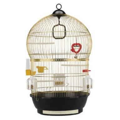 cage ronde pour oiseaux bali cage petits oiseaux. Black Bedroom Furniture Sets. Home Design Ideas