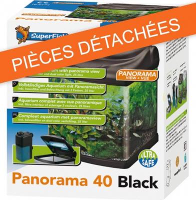 Durchsichtiger Lampenschutz für das Aquarium PANORAMA 40