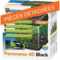 Protection transparente de lampe pour aquarium PANORAMA 40