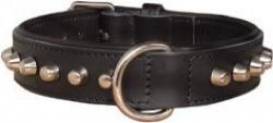 Collier bouledogue noir 45cm