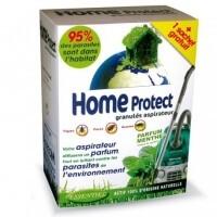 HOME PROTECT granulado para aspirador aroma Menta