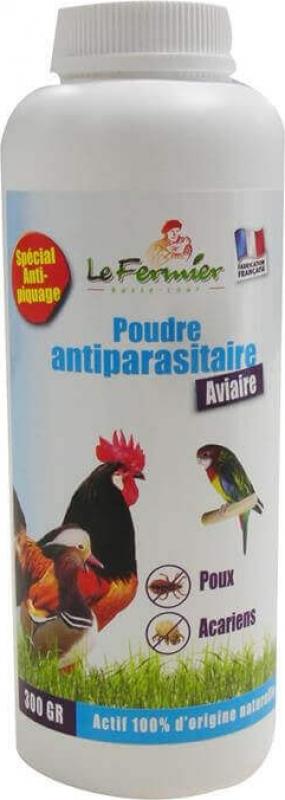 Pó anti-parasita aviária 300g