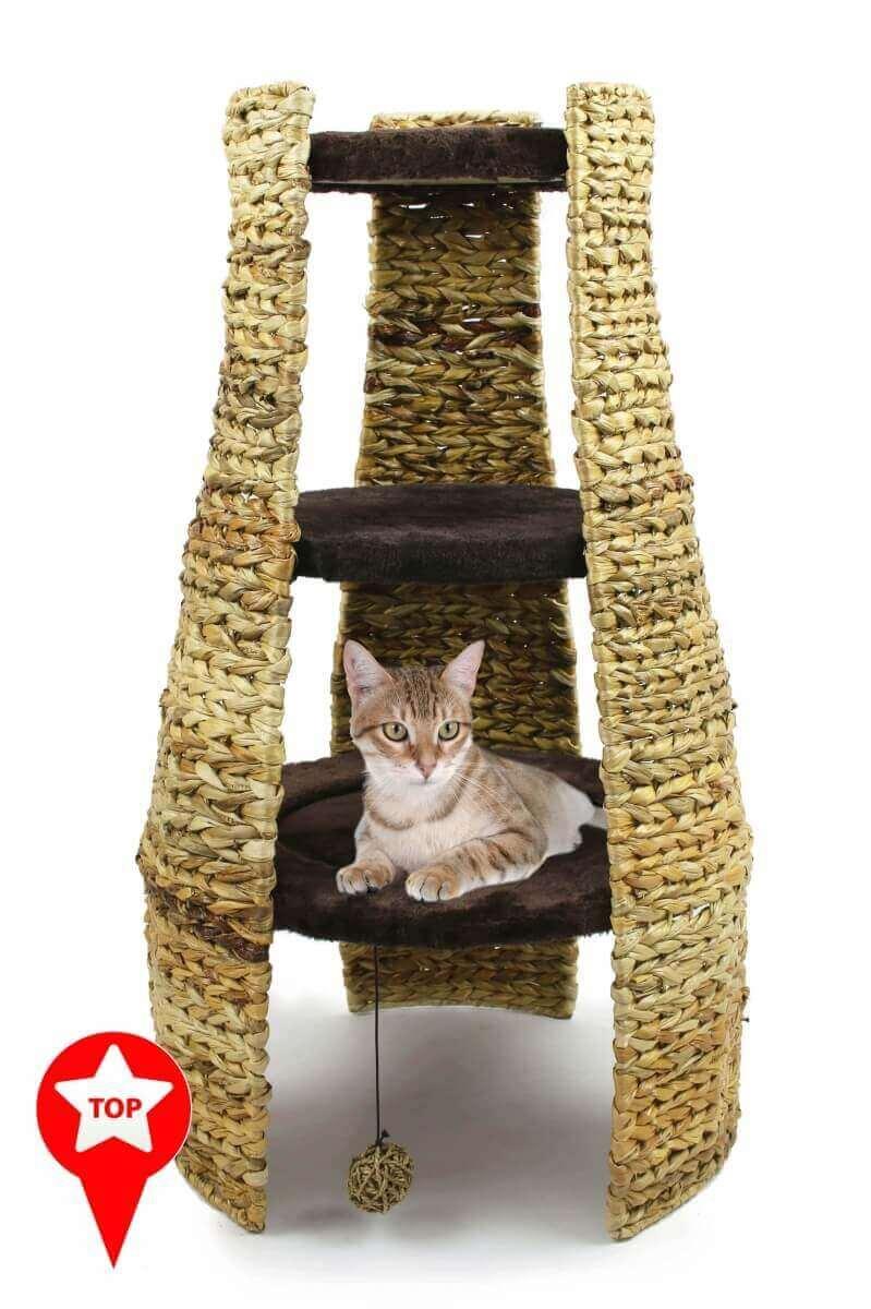Árbol para gatos Taiga Luxe  85 cm_4