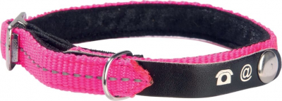 Collier Chat porte adresse Lost Rose Fluo