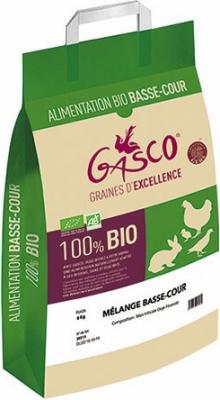 Mélange Basse-cour Bio Gasco