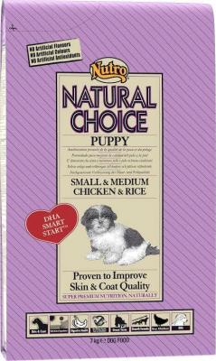NUTRO Natural Choice Junior petits et moyens chiens au poulet