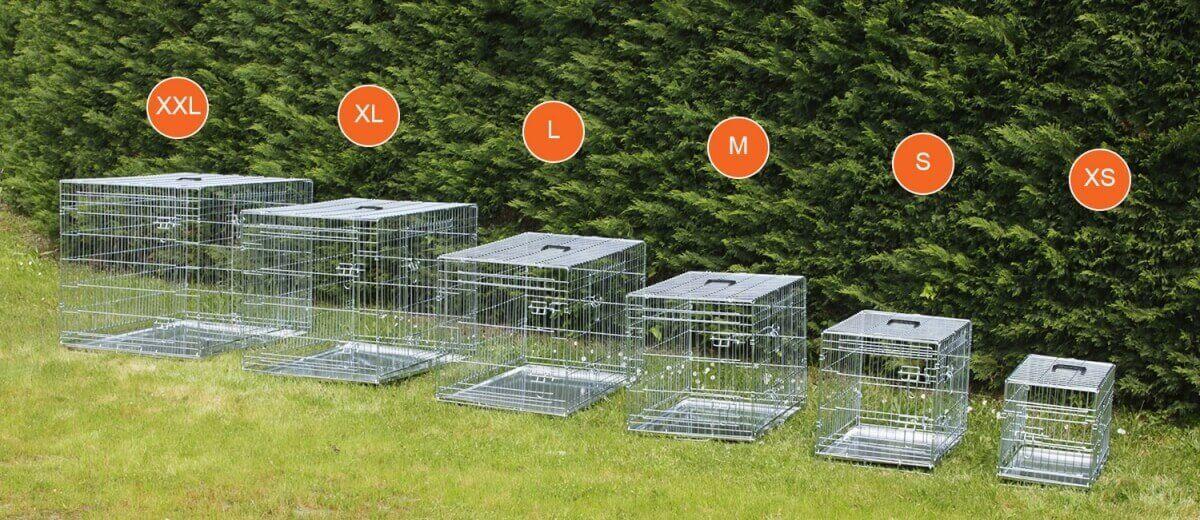 Cage de transport pour chien ZOLIA XENA avec fond en métal_9