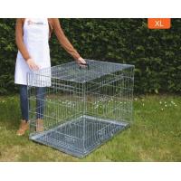 Cage de transport double porte avec fond en métal pour chien Zolia Xena