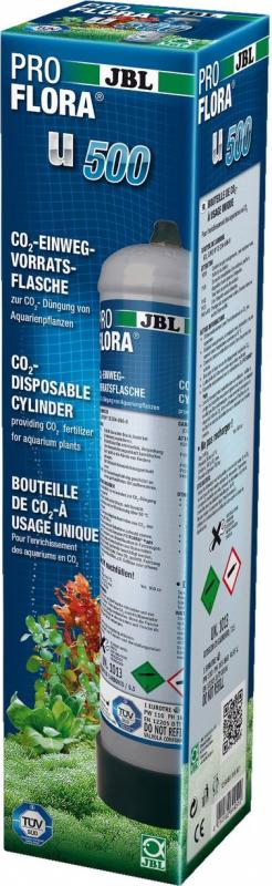 JBL ProFlora u500-2 Botella CO2 500 gr desechable