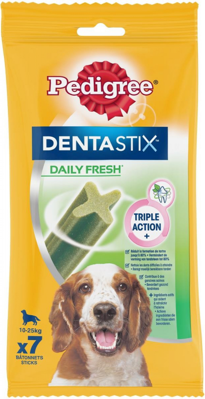PEDIGREE DENTASTIX FRESH pour chiens moyens