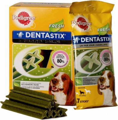 DENTASTIX FRESH pour chiens moyens