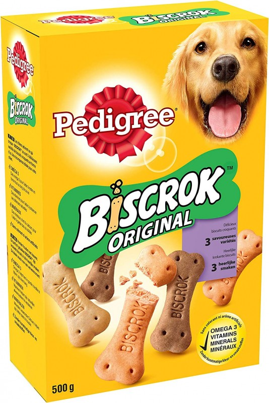 Biscuits Pedigree BISCROK Original pour chien adulte