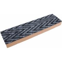 GEO Kratzbrett aus Karton im Teppich-Stil