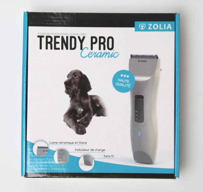 tondeuse pour chien ou chat zolia trendy pro ceramic. Black Bedroom Furniture Sets. Home Design Ideas