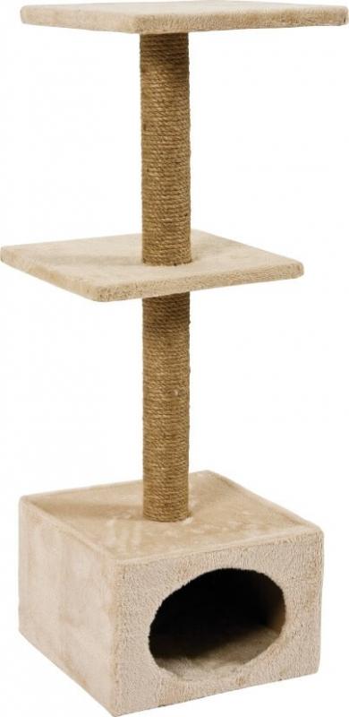 Petit arbre à chat - 83cm - duo beige