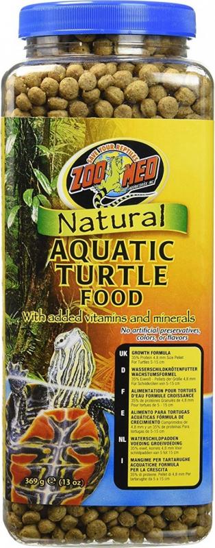 Zoomed Growth Formula Alimento natural para tortuga de agua