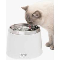 Fontaine Cat it Fresh & Clear blanc avec bol acier