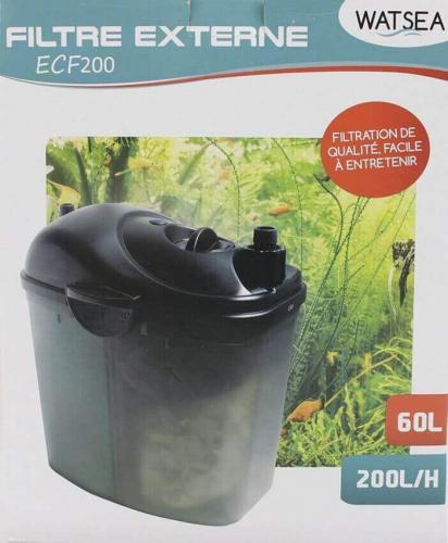 Filtro externo compact WATSEA ECF 200