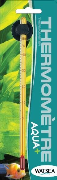 Thermomètre de précision en verre AQUA+