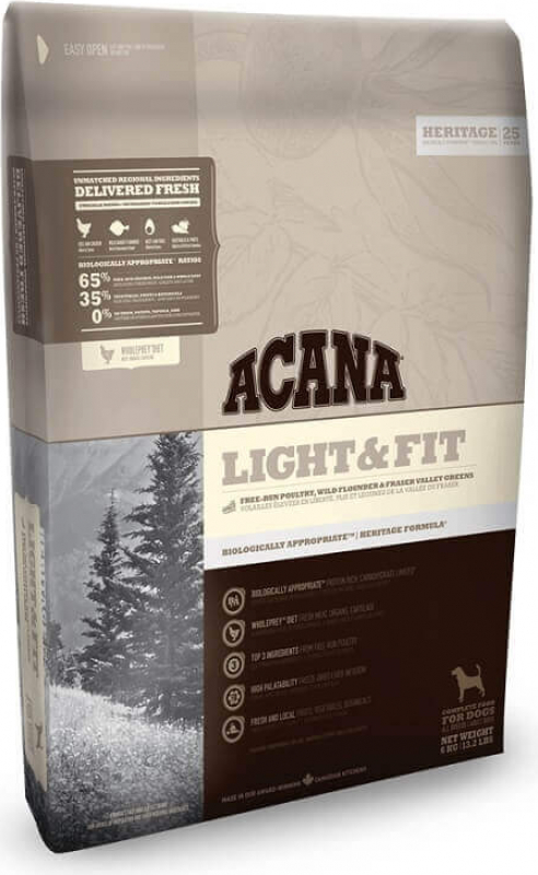 ACANA HERITAGE Light & Fit pour chien adulte en surpoids