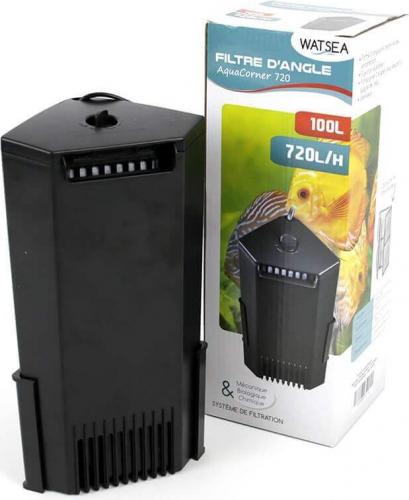 Filtre interne d'angle WATSEA Aqua Corner 720 L/h