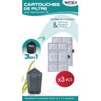 Filter Refill Cartridge for Aqua Corner 720 (X3)