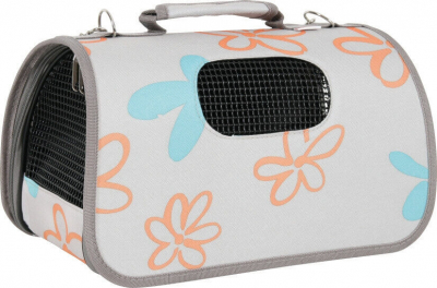 Sac de transport Flower gris