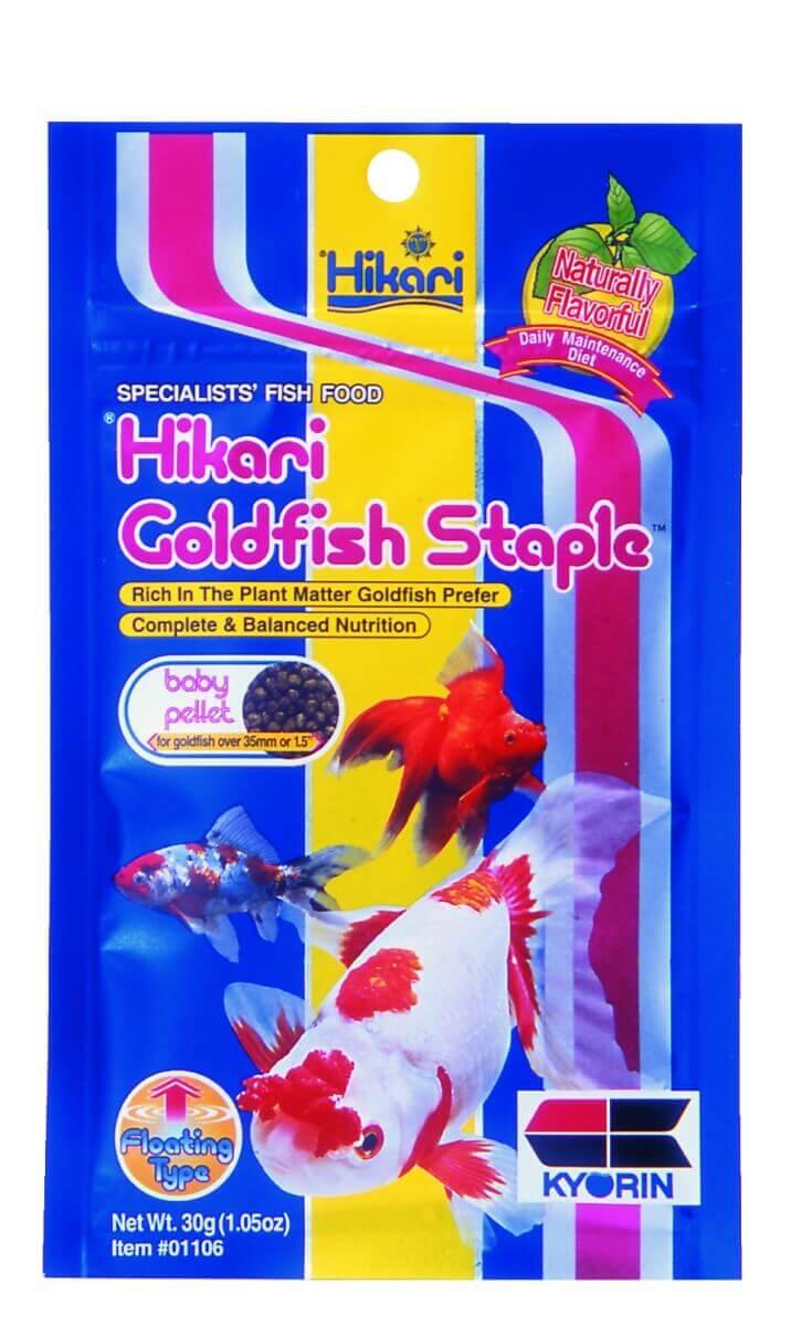 Nourriture poissons d 39 eau froide hikari staple goldfish for Goldfish nourriture