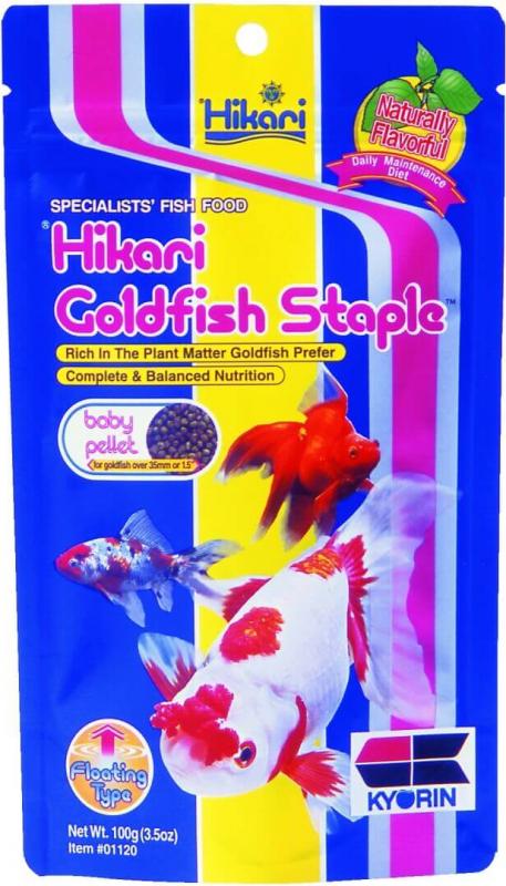 Nourriture poissons d'eau froide HIKARI - STAPLE GOLDFISH BABY (2 conditionnements)