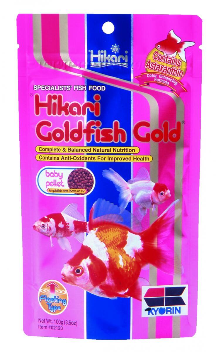 Nourriture poissons d 39 eau froide hikari gold goldfish for Goldfish nourriture