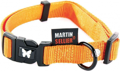 Halsband aus Nylon in orange
