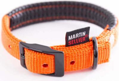 Collier droit confort nylon orange