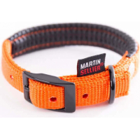 Collier droit confort nylon orange