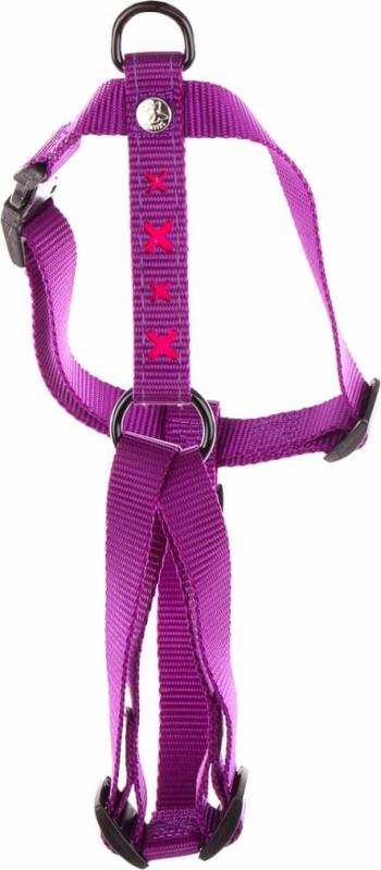 Harnais croix violet