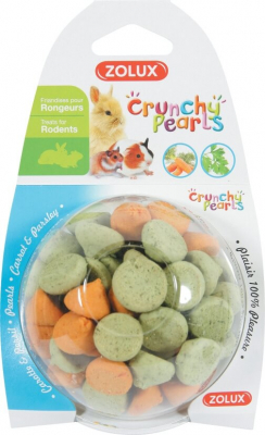 Friandises Crunchy pearls carotte persil