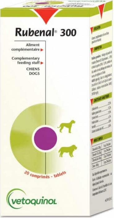 Vetoquinol Rubenal 300 pour chien