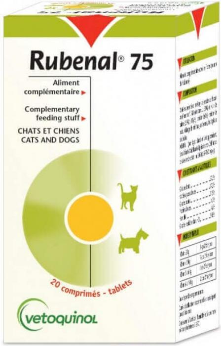 Rubenal 75 pour chien et chat Vetoquinol