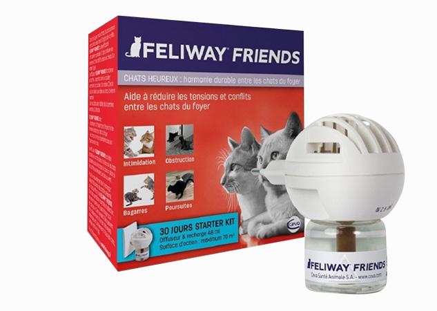 feliway friends diffuseur caracteristiques