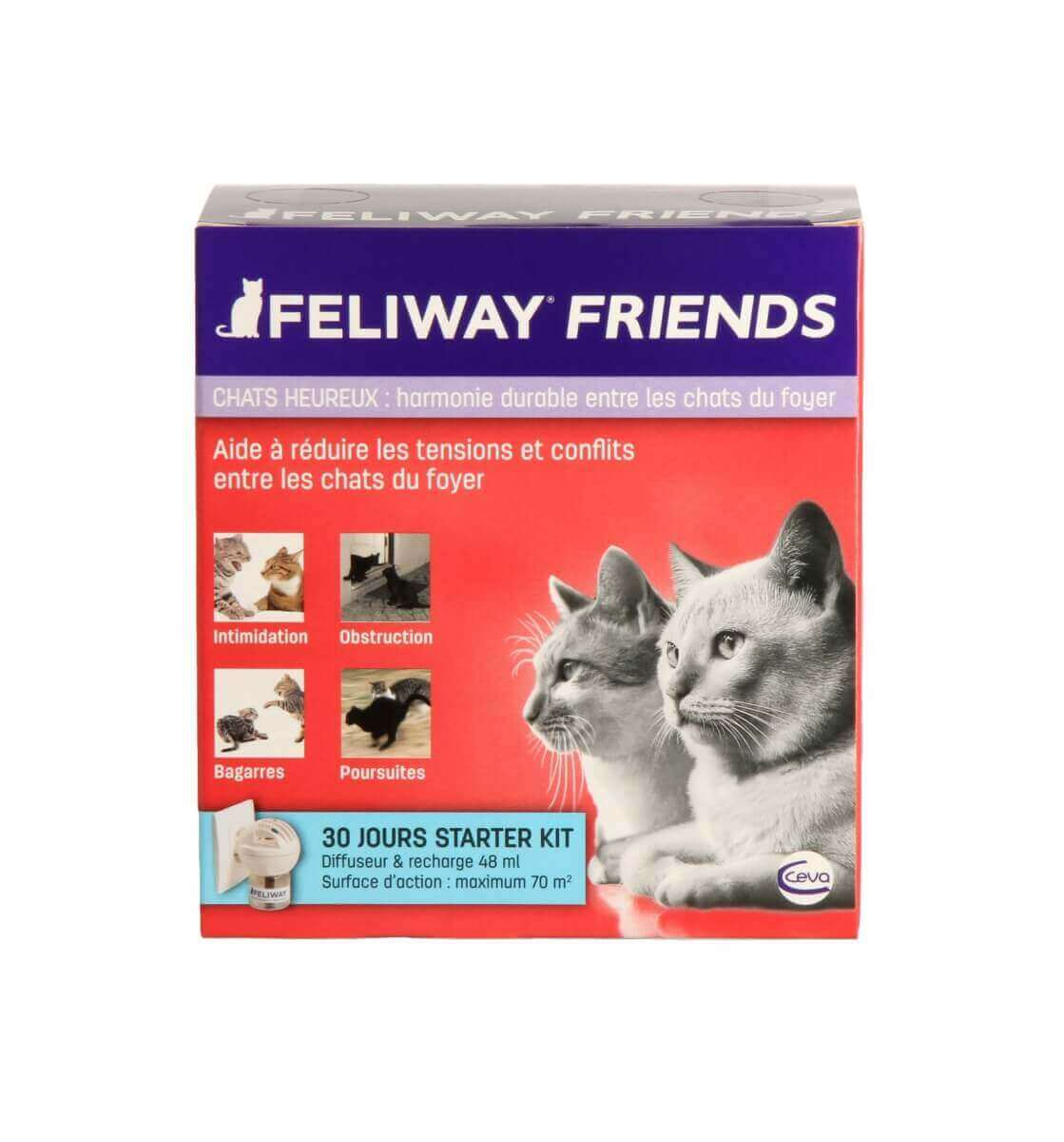 FELIWAY Friends Diffuseur - Facilite la cohabitation entre chats_4